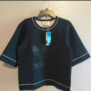 ADIDAS reversible sweater size S  New